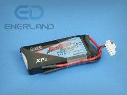 POLYQUEST Batterist - akumulator LiPo 800mAh / 2S - 25C
