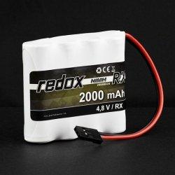 Pakiet NiMH Redox RX-Pack 4,8V 2000 mAh [płaski]
