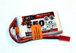 Akumulator Li-Po Dualsky 550mAh 45C 2S1P 7.4V