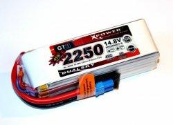 Akumulator Li-po Dualsky 2250 mAh 45C/6C 14.8V