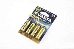 Bateria alkaliczna VARTA LONGLIFE 1,5V AA LR6 4szt.