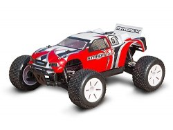 Truggy Painted Body Red (Strada EVO XT)