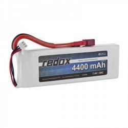 Redox 4400 mAh 7,4V 20C - pakiet LiPo