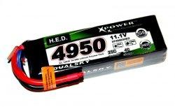 Dualsky 4950 mAh HED 25C/4C 11.1V