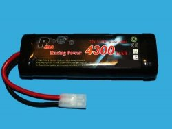 Rms - akumulator pakiet Ni-MH, 7,2V / 4300mAh