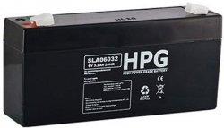 Bezobsługowy akumulator żelowy Pb 6V 3,2Ah