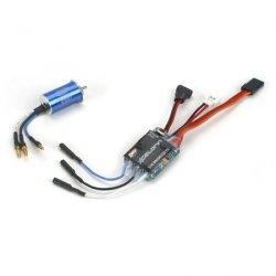 Silnik bezszczotkowy Xcelorin 1:36 8750obr/V + regulator