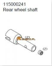 Rear wheel shaft - Ansmann Virus
