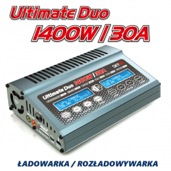 Ładowarka SkyRC Ultimate Duo 1400W 1-8s 30A