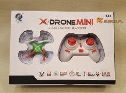 X DRON MINI Quadrocopter 2.4GHz