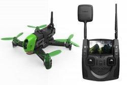 NOWOŚĆ! Dron wyścigowy Hubsan H123D X4 Jet RTF FPV 5,8GHZ Pilot z Ekranem FPV Kamera