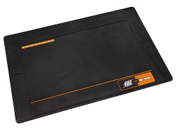 Large Rubber HPI/HB Racing Pit Mat (Black)