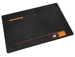 Large Rubber HPI/HB Racing Pit Mat (Black)