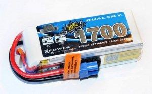 Akumulator Li-Po Dualsky 1700 mAh 35C/5C 14.8V