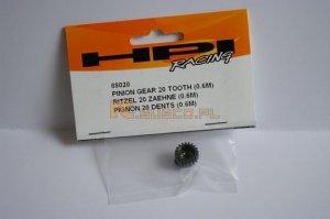 HPI-88020 Pinion Gear 20 T (0.6 Module)