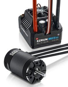 Zestaw silnik + regulator Hobbywing Ezrun Max10 SCT 3660SL 4600 kV