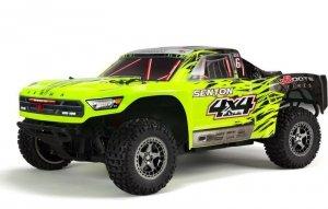 Model RC ARRMA 1/10 SENTON 4x4 3S BLX Brushless SCT RTR, Green/Black