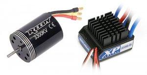COMBO SET Reedy 540R 3300kV + Reedy XP SC450-BL ESC (#936)