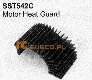 Motor heat guard