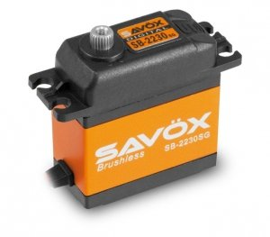 Serwo bezszczotkowe standard Savox SB-2230SG 84g (42kg/ 0,13sec)