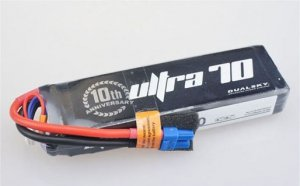Dualsky 3300mAh ULTRA 70C/12C 11.1V