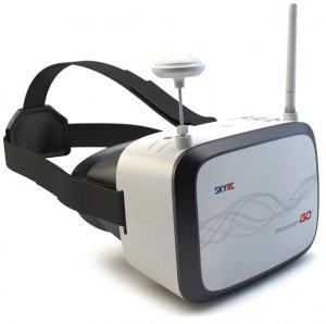Gogle FPV SKYRC Immersion GO HD (5.8GHz, 40CH, 600p, HDMI, 7, FOV65) 1024x600p