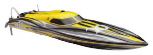 Motorówka Alpha 1000  2.4GHz ARTR - Żółty
