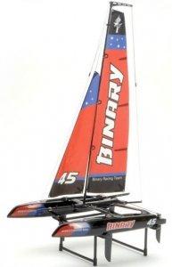 Żaglówka rc Binary Catamaran RTR (2.4GHz, 2CH, Wysokość 710mm, Długość 390mm)