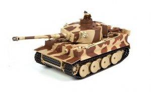 German Tiger ASG 1:24 27MHz/40MHz RTR strzela kulkami BB - Żółty