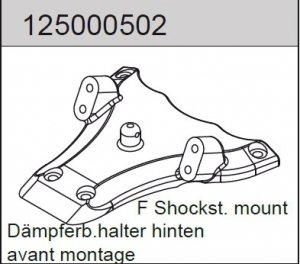 Front shockstay mount Mad Rat