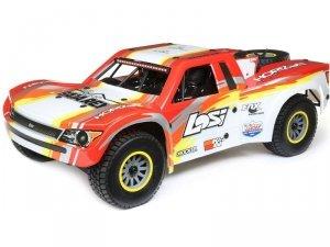 Losi Super Baja Rey Desert Truck 1:6 4WD BL RTR czerwony