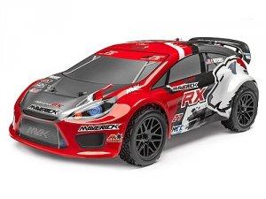 Maverick Strada Red RX 1/10 RTR Bezszotkowa Electric Rally Car Brushless
