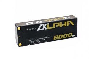 Akumulator LI-PO Turnigy Alpha 8000mAh 2S2P 140C Premium Hardcase Lipo Battery Pack (ROAR Approved)