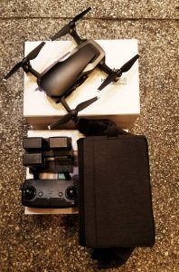 POTESTOWY DJI Mavic Air Fly More Combo Onyx Black