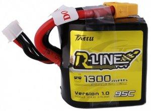 Akumulator Tattu R-Line 1300mAh 14,8V 95C 4S1P R-Line Square