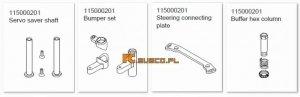 Steering set - Ansmann Virus