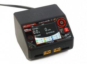 Ładowarka Reaktor D6 Pro Duo 2x325W (650W) Balance Charger AC/DC w/Wireless Charging (EU Plug)