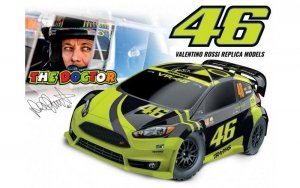 Valentino Rossi 1/10 FORD FIESTA ST 4WD RALLY TRAXXAS