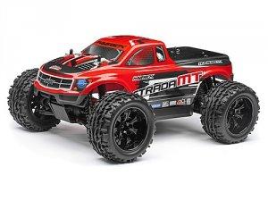 Maverick Strada Red MT 1/10 RTR Electric Monster Truck Bezszczotowa 2,4 GHZ Waterproof