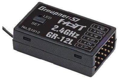 Odbiornik Graupner GR-12L HoTT 2,4 GHz 6 kan.
