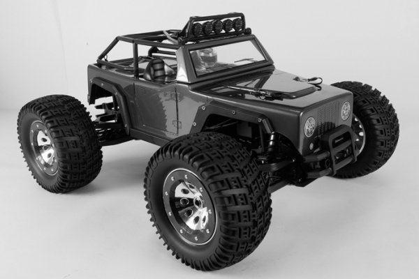 Samochód elektryczny KAISER eMTA RTR (czarny) - Thunder Tiger