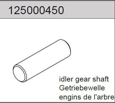 Gear shaft 2WD