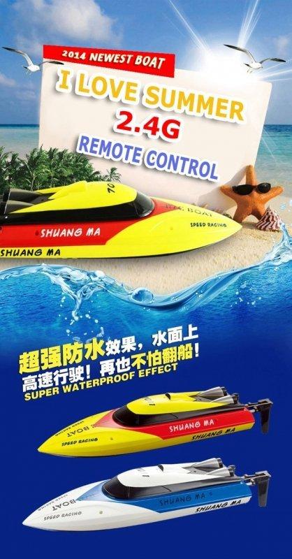 Łódka motorówka Double Horse 7011
