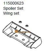 Wing set - Ansmann Virus