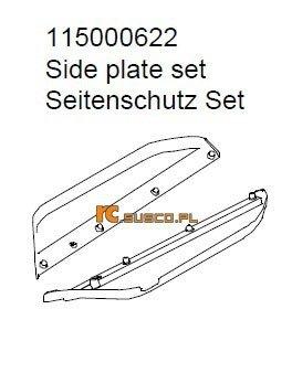Slide plate set - Ansmann Virus