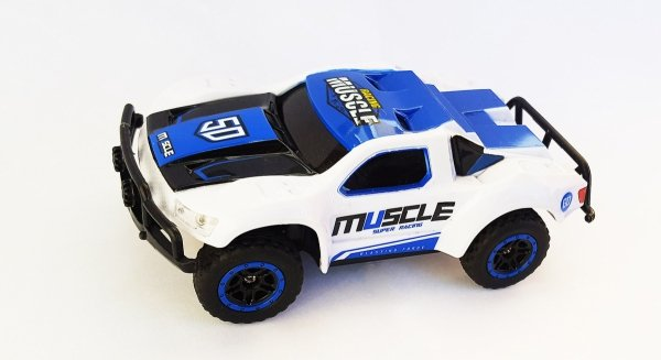 RACING RALLY SHORT COURSE TRUCK 1:43 2,4 GHZ