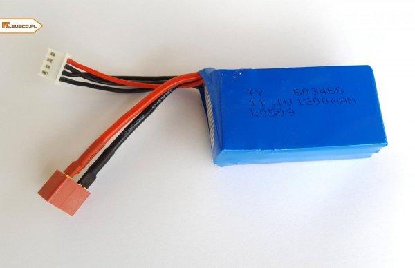 Akumulator Li-po 1200mAh 11.1V LiPo T-Dean