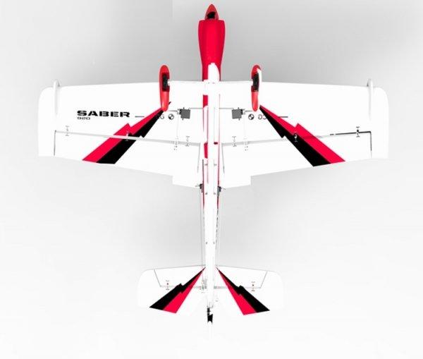Samolot akrobacyjny SABER 3D PNP (rozpiętość 920mm, zainstalowane ESC, silnik i serwa)
