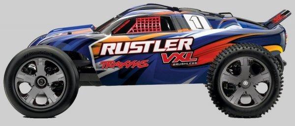 Traxxas Rustler 1:10 VXL TQi BlueTooth Ready TSM R