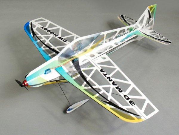3D Manta Depron Kit + Motor + ESC + Servo (rozpiętość 800mm)